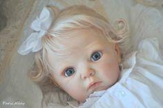 Sweet Reborn Lola by Adrie Stoete OOAK Baby Girl Doll | eBay