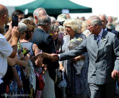 """Clarence House on Twitter: """"Today, The Prince and The Duchess toured the 135th Sandringham Flower Show, meeting exhibitors during their visit."""
