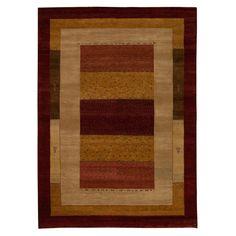 "Gabbeh Oriental Rug, 5'7"" x 8'"