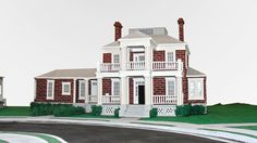 A model of Warner Bros. Studios in L. where is recorded The Mentalist, Pretty Little Liars, Friends, Gilmore Girls and others … Everything is made only of PAPER and painted by hand Based o. Gilmore Girls, Stars Hollow, Pretty Little Liars, 21st, Mansions, Museum, House Styles, Warner Bros, Paper Craft
