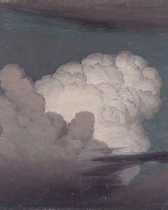 Knud Baade - Cloud Study (detail).