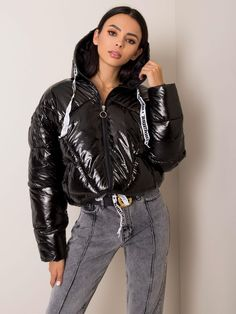 Black Down, Puffy Jacket, Black Quilt, Quilted Jacket, Jackets For Women, Bomber Jacket, Leather Jacket, Columbia, Calvin Klein