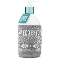 PINK Just Say Snow Body Lotion (325 EGP) ❤ liked on Polyvore featuring beauty products, bath & body products, body moisturizers, beauty, beauty prod., cosmetics, lotion, filler and pink