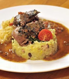 Korn, Pot Roast, Mashed Potatoes, Beef, Chicken, Ethnic Recipes, Drink, Game, Decor