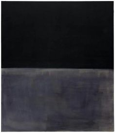 Mark Rothko  Untitled (Black on Gray)