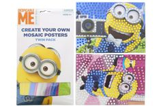 Who doesn't love Minions! They are so cute! Join to #win some of them for your kids now  Self-contained craft from kits provide kids with great fun and leaves no mess for parents to clean up! Sponsored by Just Craft