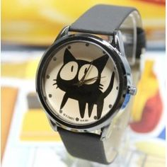 Something for cat lovers :) Nice watch!