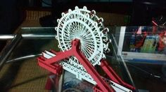 Tianjin Eye Bridge Paper Cutting Free Paper Craft Template Download - http://www.papercraftsquare.com/tianjin-eye-bridge-paper-cutting-free-paper-craft-template-download.html#Bridge, #BuildingPaperModel, #PaperCutting, #TianjinEye