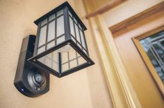 Kuna is a smart wifi camera and intercom built into an outdoor light.