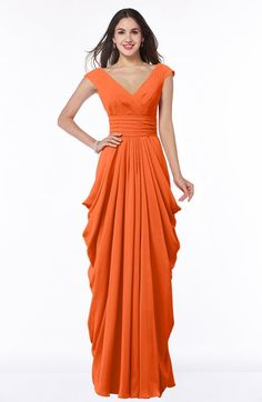 1f4ac0453de ColsBM Alice - Tangerine Bridesmaid Dresses