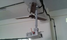 Funny Memes - [This is how they installed the projector in our engineering college.]