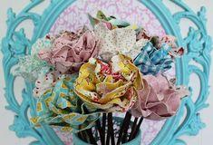 Делаем цветы из материала своими руками: мастер-класс по изготовлению