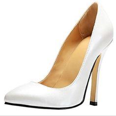 BC ™ élégant simple cuir de Faux chaussures stylets de talon des femmes en mariage – EUR € 32.99