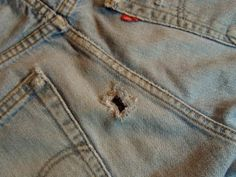 Sew in Peace: How to Fix a Hole in Jeans