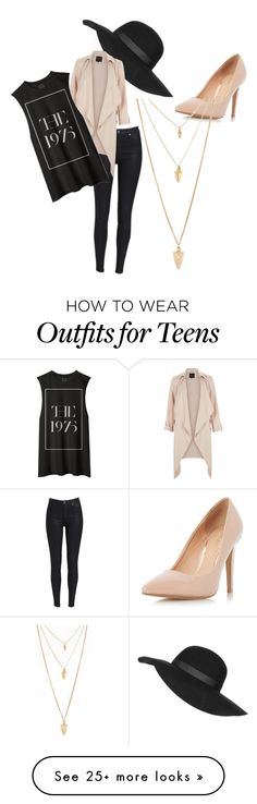 """""""Untitled #1"""" by walliciasmith on Polyvore featuring Topshop, Dorothy Perkins, Forever 21, women's clothing, women, female, woman, misses and juniors"""