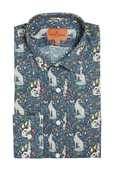Simon Carter Made With Liberty Fabric Catherine Rowe Shirt Product Code: SCSH00449 £145.00