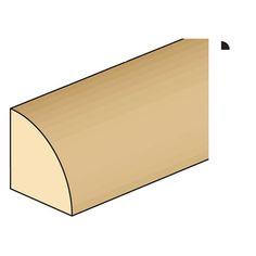 """3/64""""+Quarter+Round+Strip+Wood"""