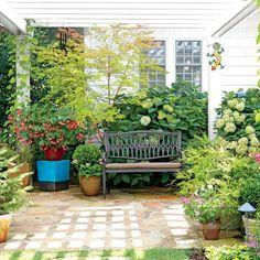 Inspiring North Carolina Garden: The Patio Garden
