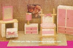 Móveis para casinha de boneca Arte com caixa de fósforo! - ESPAÇO EDUCAR