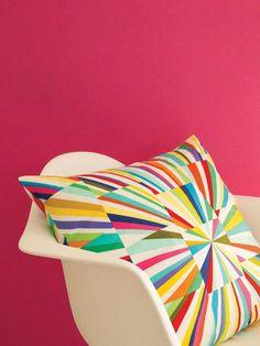 Tara's Fireworks Quilt Pillow - Novelties - Explore Inspiration - GET INSPIRED