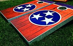 Great for Tailgates Made in USA Birthday Persistence Cornhole Boards SALE Backyard Parties Handmade College