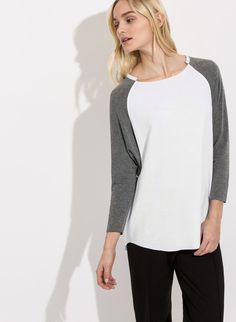 Women's Long Sleeve T-Shirts: Henleys, V-Necks & Crew Necks   Kit and Ace