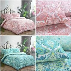 Luxury moroccan trivia paisley reversible duvet covers bedding sets quilt cover - Bed and Bedcover Trivia, Paisley, Hotel Bed, Duvet Sets, Bed Sizes, Quilt Cover, Bed Covers, Duet, Throw Pillows