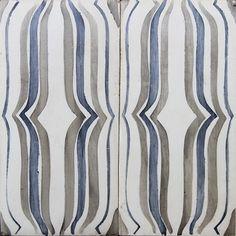 Mod Deco #3 Azur- Exquisite Surfaces