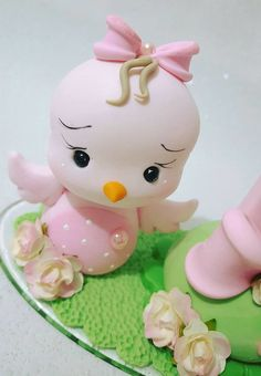 Jungle Cake, Cake Templates, Fondant Animals, Cake Craft, Clay Baby, Fondant Tutorial, Sewing Box, Polymer Clay Art, Cute Cakes