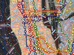 visualcomplexity.com | Paula Scher: Maps series
