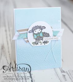 LOVE HIS BOW TIE CLIP! Crush On Colour: Stampin' Up! Artisan Blog Hop - (Not-So) Easter Lamb