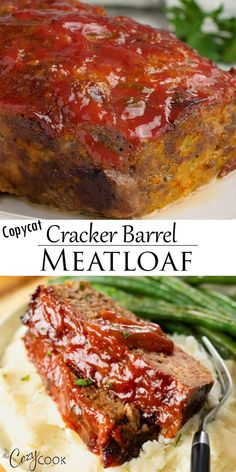 Dinner Recipes Easy Quick, Beef Recipes For Dinner, Easy Healthy Recipes, Easy Meals, Dinner Ideas With Hamburger, Dinner Ideas With Beef, Ground Beef Dinner Ideas, Classic Meatloaf Recipe, Good Meatloaf Recipe