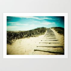 Steps to Your Dreams Art Print by Olivia Joy StClaire - $19.00