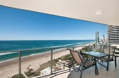 Absolutely love the view on the balcony of the Sunbird Beach #Resort in the #GoldCoast! This #hotel definitely has all you need for a quick and easy #getaway! #Australia