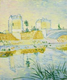 Pont de Clichy (1887), by Vincent van Gogh (1853-1890).