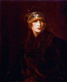 Lavery, John (Scottish, 1856-1941) -The Gold Turban - 1929 | Flickr - Photo Sharing!
