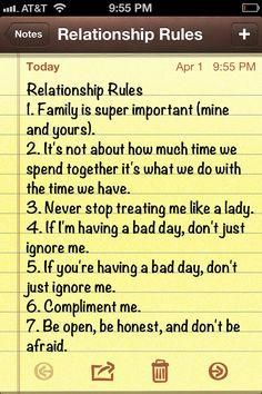 Relationship Rules #Relationships #Trusper #Tip