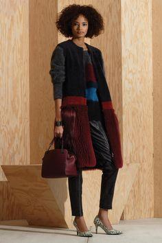 ooo that coat!! Bottega Veneta Pre-Fall 2016 Fashion Show
