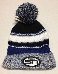 9eb7cde8338 Midco SN Hat Sports Network Beanie Winter Cap Knitted Sioux Falls South  Dakota  Easwcom
