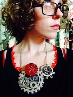 Bicycle Necklace #1