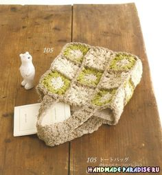 Японский журнал со схемами вязания крючком - Handmade-Paradise