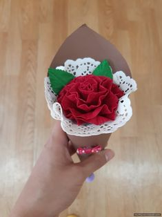 Diy And Crafts, Arts And Crafts, Paper Flowers, Origami, Decoration, Seasons, Purple, Spring, Greeting Cards