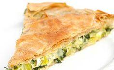 Πίτα με κρεμμύδια και τυρί Spanakopita, Cooking, Ethnic Recipes, Food, Kitchen, Essen, Meals, Yemek, Brewing