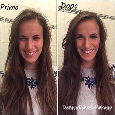 Trucco correttivo, make up model
