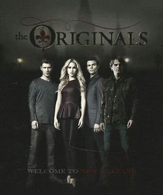 The Originals.  Spin - off of The Vampire Diaries.