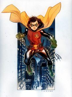 Damian Wayne by Marcio Takara