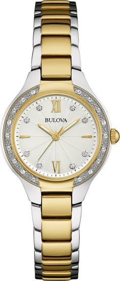 @bulova Watch Diamond Ladies #add-content #bezel-diamond #bracelet-strap-gold #brand-bulova #case-depth-7mm #case-material-steel #case-width-28mm #comparison #delivery-timescale-1-2-weeks #dial-colour-white #fashion #gender-ladies #movement-quartz-battery #new-product-yes #official-stockist-for-bulova-watches #packaging-bulova-watch-packaging #style-dress #subcat-diamond #supplier-model-no-98w221 #warranty-bulova-official-3-year-guarantee #water-resistant-30m