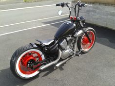 yamaha virago bobber project - Google Search Yamaha Virago, Ducati, Virago 535, Bobber Bikes, Bobber Motorcycle, Cool Motorcycles, Custom Bobber, Custom Harleys, Custom Bikes