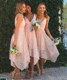 Beautiful Custom bridesmaid dress, Sleeveless Newest Spaghetti Strap