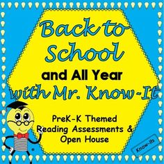 Back to School and All Year PreK-K by Know-Its | TpT
